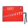 Cooper Hand Tools Crescent 15 Piece Metric Combination Wrench Sets, 12 Points, Metric ORS 192-CCWS5