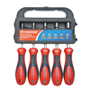 Cooper Hand Tools Crescent Hollow Shaft SAE Nut Driver Sets, 3/16 In; 1/4 In; 5/16 In; 3/8 In; 7/16 In ORS 181-CND5SAE