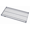 Quantum Storage Systems Gray Epoxy Wire Shelf QNT 1424GY