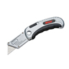 Cooper Industries Quick Change Utility Knives, 5 3/4 In, Heavy Duty Steel Blade, Steel, Gray CTA 186-WKF1