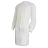 work wear: McKesson - Medi-Pak® Knee Length Long Sleeve Lab Coat