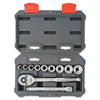 Cooper Hand Tools Crescent 11 Piece Drive Socket Wrench Set, 3/8 In, SAE ORS 192-CSWS6