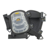 CLC Custom Leather Craft Gel-Tek Stabili-Cap Kneepads, Nylon Elastic Strap, Black CLC 201-376
