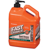 Heavy Duty Hand Cleaner: Permatex - Fast Orange Smooth Lotion Hand Cleaners, Citrus, Bottle W/Pump, 1 Gal