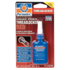Devcon Permatex Permanent Strength Red Threadlocker, 10 mL , 3/8 In - 1 In ORS 230-26210