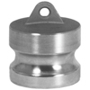 Dixon Valve Andrews/Boss-Lock Type DP Cam and Groove Dust Plugs DXV 238-300-DP-SS