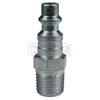 Dixon Valve DF-Series Industrial Male Plug, 1/4 In, Steel DXV 238-D2M2