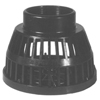 Plumbing Equipment: Dixon Valve - Threaded Black Polyethylene Strainers