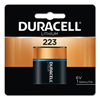 Duracell Ultra High Power Lithium Batteries, 223, 6V, 6/Pack DUR 243-DL223ABPK