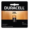 Duracell Duracell® Lithium Batteries, 6V, 6/Carton DUR PX28LBPK