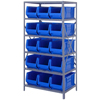 Quantum Storage Systems 24 Hulk Container Steel Shelving Systems QNT 2475-953BL