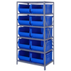 Quantum Storage Systems 24 Hulk Container Steel Shelving Systems QNT 2475-954BL