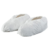 Shoe Covers: DuPont - Tyvek Isoclean Clean Shoe Covers With Gripper Soles, Large, White