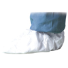 Shoe Covers: DuPont - Surestep Shoe Covers With Serged Seams, Large, White, 200/Case