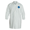 DuPont Tyvek Lab Coats No Pockets Knee Length, 3X-Large, DUP 251-TY211S-3XL