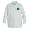 DuPont Tyvek Shirt Snap Front, Long Sleeve, 2XL DUP 251-TY303S-2XL