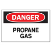Brady Chemical & Hazardous Material Signs BRY 262-22341