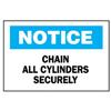 Brady Chemical & Hazardous Material Signs BRY 262-22768