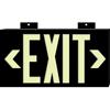 Brady BradyGlo™ High Performance Glow-In-The-Dark Exit Signs BRY 262-38098