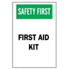 Brady First Aid Signs BRY 262-41208