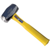 Estwing Sure-Strike Drilling Hammers, 3 Lb, 11 In, Straight Fiberglass Handle EST 268-MRF3LB