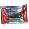 Eklind Tool Cushion Grip Hex T-Key Sets, 10 Per Pouch, Hex Tip, Inch, 6 In Handle EKT 269-53610