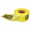 Traffic Safety Safety Tapes: Empire Level - Econo Grade Caution Tape-Yellow w/Black Print