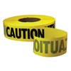 """Traffic Safety Safety Tapes: Empire Level - 3""""x1000' 3-mil BarricadeTape Yellow"""