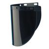 Fibre-Metal High Performance Faceshield Windows, Green, Extended View, 9 3/4 X 19 FBM 280-4178IRUV5BP