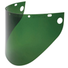 Fibre-Metal High Performance Faceshield Windows, Shade 5/Green, Wide View, 8 X 16 1/2 FBM 280-4199DGNBP