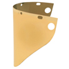 Fibre-Metal High Performance Faceshield Windows, Gold, Extended View, 9 3/4 X 19 FBM 280-4199GDTVGY