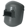Fibre-Metal Superglas Fiberglass Welding Helmet, Lift Front, 4001 Mtg Cups, Curved Bottom FBM 280-4706