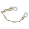 Fibre-Metal Chin Straps, Elastic, White FBM 280-C2