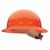 Fibre-Metal E1RW Full Brim Hard Hats, Ratchet, Supereight, Orange FBM 280-E1RW03A000
