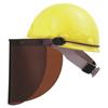 Fibre-Metal High Performance Faceshield Hat Adpaters, Full Brim, Plastic, For E1 FBM 280-FM71