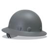 Fibre-Metal P1A Hard Hats, Supereight, 8-Point Ratchet, Full Brim, Gray FBM 280-P1ARW09A000