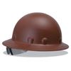 Fibre-Metal P1A Hard Hats, Supereight, 8-Point Ratchet, Full Brim, Brown FBM 280-P1ARW12A000