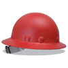 Fibre-Metal P1A Hard Hats, Supereight, 8-Point Ratchet, Full Brim, Red FBM 280-P1ARW15A000