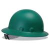Fibre-Metal P1A Hard Hats, Supereight, 8-Point Ratchet, Full Brim, Green FBM 280-P1ARW74A000