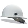Fibre-Metal Roughneck P2 High Heat Protective Cap, Supereight Ratchet With Quick-Lok, White FBM 280-P2HNQRW01A000