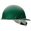 Fibre-Metal Roughneck P2Hn Hard Hats, 8 Point, Quick-Lok Mounting Blocks, Green FBM 280-P2HNQRW74A000