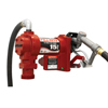 Fill-Rite Rotary Vane 115 Volt Ac Pumps W/ Hose And Manual Nozzle, 3/4 In, 12 Ft Hose ORS 285-FR1210G