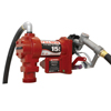 Fill-Rite Rotary Vane 115 Volt Ac Pumps W/ Hose,/Manual Nozzle/Cable, 3/4 In, 12 Ft Hose ORS 285-FR610G