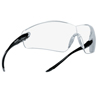 Ring Panel Link Filters Economy: Bolle - Cobra Series Safety Glasses, Anti-Scratch Anti-Fog Clear Lenses, Black/Gray