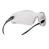 Ring Panel Link Filters Economy: Bolle - Cobra Series Safety Glasses, Hd Hydrophobic Lenses, Black/Gray