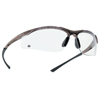 Ring Panel Link Filters Economy: Bolle - Contour Series Safety Glasses, Polycarbonate Anti-Scratch Anti-Fog Lenses, Black