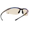Ring Panel Link Filters Economy: Bolle - Contour Series Safety Glasses, Esp Polycarbon Anti-Scratch Lenses, Black Frame
