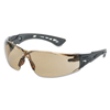 Ring Panel Link Filters Economy: Bolle - Rush+ Series Safety Glasses, Twilight Polycarbonate Lenses, Black/Grey Temple
