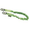 Fall Protection Fall Protection Parts Accessories: Honeywell - Manyard II Shock-Absorbing Lanyards, 310 Lb Capacity, Locking Snap Hooks, 1 Leg