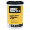 Gasoila Chemicals Tub-O Towels Multi Purpose Towels, Orange, Canister, 45 oz ORS 296-TW90